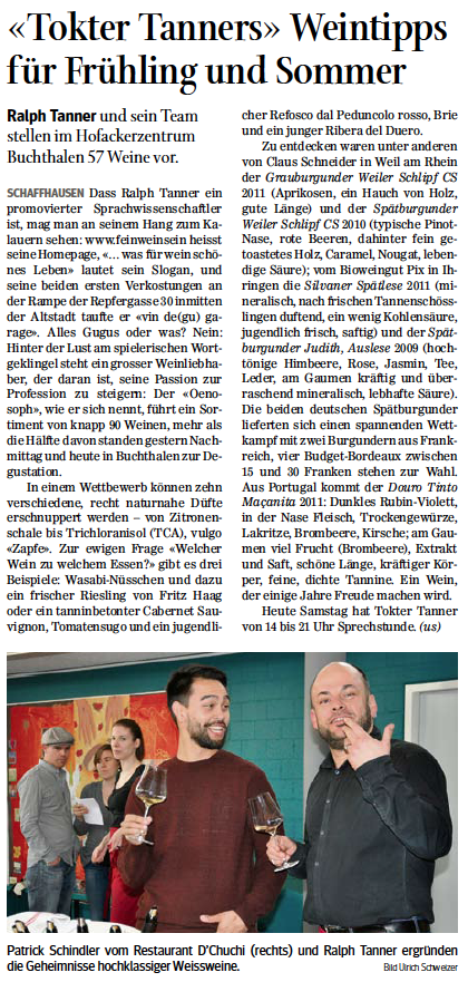 Artikel SN 22. März 2014