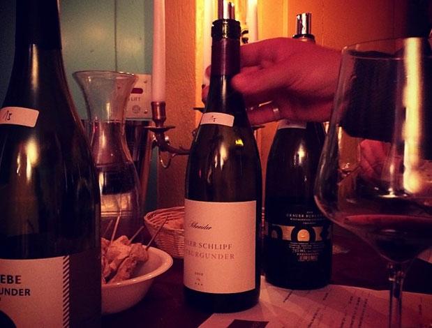 Wunderschönes Weinambiente, eingefangen von Stammkunde Michael Helbling ...
